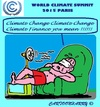 Cartoon: World Climate Summit 2015 (small) by cartoonharry tagged paris,climate,summit,2015,change,finance