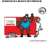 Cartoon: Worstelen (small) by cartoonharry tagged olympisch,worstelen,squash,honkbal,2020,tokyo,toonpool