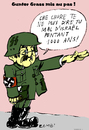 Cartoon: Günter Grass (small) by Zombi tagged gunter,grass