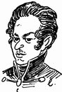 Cartoon: Young Karl Marx (small) by Zombi tagged karl marx