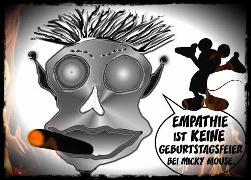 Cartoon: Empathie (medium) by Vanessa tagged micky,party,empathie,zuneigung,feier,comic,mouse