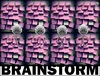 Cartoon: Brainstorm (small) by Vanessa tagged notes,skizzen,aphorismen,brain,zettel,thoughts