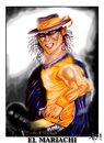 Cartoon: RAFAEL NADAL- El Mariachi (small) by joschoo tagged mariachi,tenis,nadal,killer,guitar