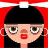 Cartoon: Lily Allen (small) by Hugh Jarse tagged lily,allen,singer,popstar,music