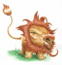 Cartoon: Lion  Leon (small) by David Pugliese tagged lion,illustration,children,animal