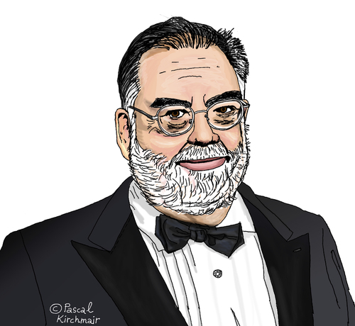 Cartoon: Francis Ford Coppola (medium) by Pascal Kirchmair tagged francis,ford,coppola,caricature,karikatur,portrait,cartoon,der,pate,apocalypse,now,godfather,francis,ford,coppola,caricature,karikatur,portrait,cartoon,der,pate,apocalypse,now,godfather