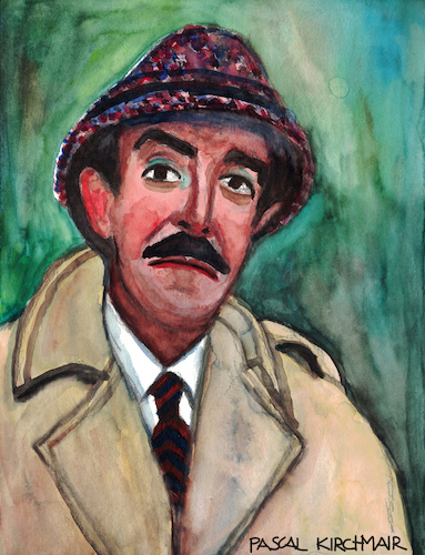 Cartoon: Inspector Clouseau (medium) by Pascal Kirchmair tagged inspektor,chief,inspector,inspecteur,jacques,clouseau,peter,sellers,pink,panther,portrait,karikatur,retrato,caricature,dibujo,ritratto,drawing,porträt,cartum,cartoon,portret,zeichnung,dessin,desenho,disegno,illustration,aquarell,watercolour,inspektor,chief,inspector,inspecteur,jacques,clouseau,peter,sellers,pink,panther,portrait,karikatur,retrato,caricature,dibujo,ritratto,drawing,porträt,cartum,cartoon,portret,zeichnung,dessin,desenho,disegno,illustration,aquarell,watercolour