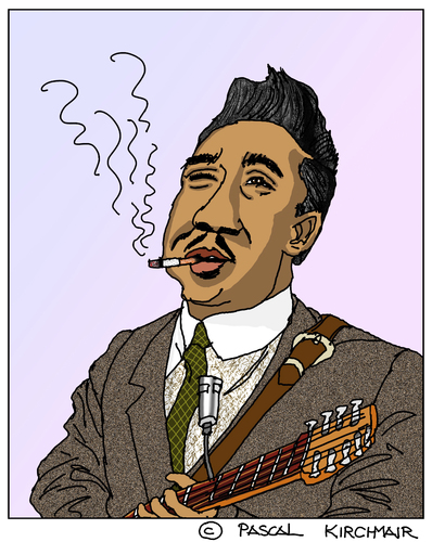 Cartoon: Muddy Waters (medium) by Pascal Kirchmair tagged muddy,waters,caricature,karikatur,portrait,retrato,cartoon,mississippi,deer,creek,rolling,fork,blues,music,musik,soul,mckinley,morganfield,muddy,waters,caricature,karikatur,portrait,retrato,cartoon,mississippi,deer,creek,rolling,fork,blues,music,musik,soul,mckinley,morganfield