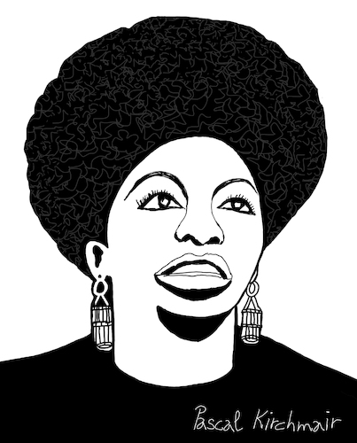 Cartoon: Nina Simone (medium) by Pascal Kirchmair tagged usa,nina,simone,singer,songwriter,civil,rights,movement,jazz,rhythm,and,blues,rnb,folk,gospel,pop,cartoon,caricature,karikatur,ilustracion,illustration,pascal,kirchmair,dibujo,desenho,drawing,zeichnung,disegno,ilustracao,illustrazione,illustratie,dessin,de,presse,du,jour,art,of,the,day,tekening,teckning,cartum,vineta,comica,vignetta,caricatura,humor,humour,political,portrait,retrato,ritratto,portret,chan,porträt,artiste,artista,artist,pianistin,pianist,pianista,tryon,north,carolina,carry,le,rouet,soul,usa,nina,simone,singer,songwriter,civil,rights,movement,jazz,rhythm,and,blues,rnb,folk,gospel,pop,cartoon,caricature,karikatur,ilustracion,illustration,pascal,kirchmair,dibujo,desenho,drawing,zeichnung,disegno,ilustracao,illustrazione,illustratie,dessin,de,presse,du,jour,art,of,the,day,tekening,teckning,cartum,vineta,comica,vignetta,caricatura,humor,humour,political,portrait,retrato,ritratto,portret,chan,porträt,artiste,artista,artist,pianistin,pianist,pianista,tryon,north,carolina,carry,le,rouet,soul