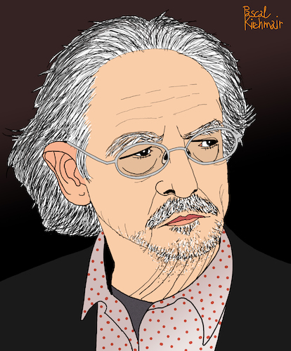 Cartoon: Peter Handke (medium) by Pascal Kirchmair tagged laureate,nobelpreis,für,literatur,nobel,prize,in,literature,2019,peter,handke,austria,österreich,griffen,kärnten,schriftsteller,author,autor,autore,auteur,writer,illustration,drawing,zeichnung,pascal,kirchmair,cartoon,caricature,karikatur,ilustracion,dibujo,desenho,ink,disegno,ilustracao,illustrazione,illustratie,dessin,de,presse,du,jour,art,of,the,day,tekening,teckning,cartum,vineta,comica,vignetta,caricatura,portrait,porträt,portret,retrato,ritratto,laureate,nobelpreis,für,literatur,nobel,prize,in,literature,2019,peter,handke,austria,österreich,griffen,kärnten,schriftsteller,author,autor,autore,auteur,writer,illustration,drawing,zeichnung,pascal,kirchmair,cartoon,caricature,karikatur,ilustracion,dibujo,desenho,ink,disegno,ilustracao,illustrazione,illustratie,dessin,de,presse,du,jour,art,of,the,day,tekening,teckning,cartum,vineta,comica,vignetta,caricatura,portrait,porträt,portret,retrato,ritratto