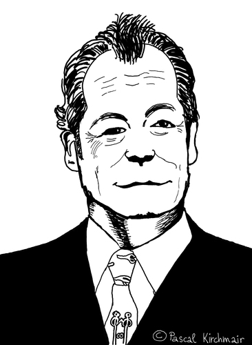Cartoon: Willy Brandt (medium) by Pascal Kirchmair tagged willy,brandt,karikatur,portrait,caricature,cartoon,zeichnung,bundeskanzler,deutschland,germany,berlin,willy,brandt,karikatur,portrait,caricature,cartoon,zeichnung,bundeskanzler,deutschland,germany,berlin