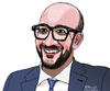 Cartoon: Charles Michel (small) by Pascal Kirchmair tagged charles,michel,prime,minister,belgium,karikatur,caricature,cartoon,portrait,belgien,belgique,premier,ministre,belge,premierminister