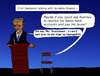 Cartoon: Clint Eastwood talks with chair (small) by Pascal Kirchmair tagged republican,convention,clint,eastwood,talks,to,obama,invisible,chair,stuhl,mr,president,barack,rnc,mitt,romney,ryan,tampa,florida,national,gop,paul
