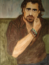 Cartoon: Colin Farrell (small) by Pascal Kirchmair tagged colin,james,farrel