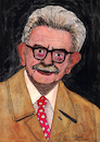 Cartoon: Elias Canetti Nr. 2 (small) by Pascal Kirchmair tagged elias,canetti,cartoon,caricature,karikatur,ilustracion,illustration,pascal,kirchmair,dibujo,desenho,ink,drawing,zeichnung,disegno,ilustracao,illustrazione,illustratie,dessin,de,presse,du,jour,art,of,the,day,tekening,teckning,cartum,vineta,comica,vignetta,caricatura,humor,humour,political,portrait,retrato,ritratto,portret,masse,und,macht,crowds,and,power,schriftsteller,author,literatur,nobelpreis,prix,premio,nobel,prize,in,literature,letteratura,litterature,literatura,autor,autore,auteur,aquarelle,watercolor,watercolour,acquarello,acuarela,aguarela,aquarela