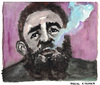 Cartoon: Fidel Castro Ruz (small) by Pascal Kirchmair tagged fidel,alejandro,castro,ruz,caricature,portrait,karikatur,zeichnung,dessin,drawing,illustration,cartoon,vignetta,cuba,libre,kuba,el,jefe,havanna,la,habana,smoking,rauchend,fumant,fumando,cohiba