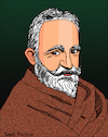 Cartoon: George Bernard Shaw (small) by Pascal Kirchmair tagged george bernard shaw dibujo drawing caricature pascal kirchmair illustration portrait retrato desenho ilustracion ilustracao dessin cartoon karikatur caricatura portret tekening cartum illustratie