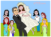 Cartoon: George Clooney (small) by Pascal Kirchmair tagged amal,alamuddin,hochzeit,cartoon,karikatur,george,clooney,mariage,dessin,humour,humoristique,caricature