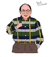 Cartoon: George Costanza (small) by Pascal Kirchmair tagged newyork,manhattan,upper,west,side,sitcom,seinfeld,george,costanza,jason,alexander,cartoon,caricature,karikatur,ilustracion,illustration,pascal,kirchmair,dibujo,desenho,drawing,zeichnung,disegno,ilustracao,illustrazione,illustratie,dessin,de,presse,du,jour,art,of,the,day,tekening,teckning,cartum,vineta,comica,vignetta,caricatura,humor,humour,political,portrait,retrato,ritratto,portret,serie,series,tv