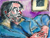 Cartoon: George Tabori (small) by Pascal Kirchmair tagged george,tabori,theater,teatro,theatre,painting,dipinto,pintura,pittura,peinture,artist,artiste,artista,kunst,künstler,illustration,drawing,zeichnung,pascal,kirchmair,cartoon,caricature,karikatur,ilustracion,dibujo,desenho,ink,disegno,ilustracao,illustrazione,illustratie,dessin,du,jour,art,of,the,day,tekening,teckning,cartum,vineta,comica,vignetta,caricatura,portrait,porträt,portret,retrato,ritratto,arte,aquarell,watercolor,black,pencil,watercolour,schwarzer,aquarellstift