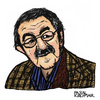 Cartoon: Günter Grass (small) by Pascal Kirchmair tagged günter,grass,caricature,portrait,karikatur,dessin,vignetta,zeichnung,schriftsteller,auteur,author,autore,beim,häuten,der,zwiebel,blechtrommel,nobelpreis,literatur,literature,nobel,prize
