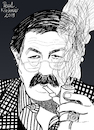 Cartoon: Günter Grass (small) by Pascal Kirchmair tagged günter,grass,illustration,drawing,zeichnung,pascal,kirchmair,cartoon,caricature,karikatur,ilustracion,dibujo,desenho,ink,disegno,ilustracao,illustrazione,illustratie,dessin,de,presse,du,jour,art,of,the,day,tekening,teckning,cartum,vineta,comica,vignetta,caricatura,portrait,retrato,ritratto,portret,kunst,writer,author,autor,autore,auteur,schriftsteller,danzig,lübeck,germany,deutschland,nobel,prize,literature,literatur,premio,prix,literatura,nobelpreis,beim,häuten,der,zwiebel,blechtrommel,tin,drum