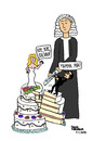 Cartoon: Il Divorzio di Silvio (small) by Pascal Kirchmair tagged veronica,torta,nuziale,berlusconi,silvio,divorce,divorzio,scheidung,italien,gateau,de,mariage,marriage,wedding,cake