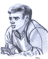 Cartoon: James Dean (small) by Pascal Kirchmair tagged james,jimmy,dean,caricature,karikatur,portrait,hollywood,schauspieler,actor,acteur,star