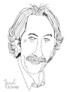 Cartoon: Jean Rochefort (small) by Pascal Kirchmair tagged jean,rochefort,dessin,dibujo,retrato,ritratto,portrait,desenho,drawing,caricature,karikatur,cartoon,illustration,ilustracion,ilustracao,illustrazione,pascal,kirchmair,zeichnung,porträt,portret,cartum,tekening,disegno,teckning