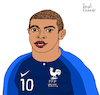 Cartoon: Kylian Mbappe (small) by Pascal Kirchmair tagged kylian,mbappe,cartoon,caricature,karikatur,ilustracion,illustration,pascal,kirchmair,desenho,drawing,zeichnung,dibujo,disegno,ilustracao,illustrazione,illustratie,dessin,de,presse,du,jour,art,of,the,day,tekening,teckning,cartum,vineta,comica,vignetta,caricatura,humor,humour,portrait,retrato,ritratto,portret,porträt,artiste,artista,artist,künstler,paris,france,psg,saint,germain,weltmeister,world,cup,2018,russia,champion,monde,foot,football,futebol,futbol,soccer