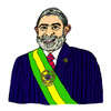 Cartoon: Luiz Inacio Lula da Silva (small) by Pascal Kirchmair tagged politiker,politician,politicien,brasil,brasile,bresil,brazil,luiz,inacio,lula,da,silva,brasilien,präsident,karikatur,caricature,cartoon
