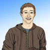 Cartoon: Mark Zuckerberg (small) by Pascal Kirchmair tagged mark,zuckerberg,facebook,caricature,karikatur,portrait,cartoon,dessin,social,network,silicon,valley,california,kalifornien,san,francisco,usa,amerika,america