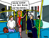 Cartoon: Metrosexuell (small) by Pascal Kirchmair tagged untergrundbahn,sexuell,belästigung,cartoon,metro,ubahn,paris,metropolitan,karikatur