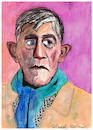 Cartoon: Oskar Kokoschka (small) by Pascal Kirchmair tagged oskar,kokoschka,caricature,portrait,retrato,karikatur,cartoon,illustration,dibujo,desenho,dessin,zeichnung,vignetta,disegno,portret,pöchlarn,montreux,suisse,svizzera,schweiz,suiza
