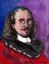 Cartoon: Pierre Corneille (small) by Pascal Kirchmair tagged pierre,corneille,portrait,caricature,karikatur,retrato,dibujo,dessin,drawing,ritratto,desenho,illustration,pascal,kirchmair,cartoon,vignetta,france,ilustracion,ilustracao,disegno,rouen,paris,porträt
