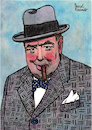 Cartoon: Sir Winston Churchill (small) by Pascal Kirchmair tagged sir,winston,churchill,portrait,retrato,drawing,dibujo,desenho,zeichnung,illustration,ilustracion,pascal,kirchmair,ilustracao,disegno,dessin,illustrazione,illustratie,tekening,teckning,portret,porträt,cartoon,caricature,karikatur,cartum