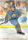 Cartoon: Thomas Vanek (small) by Pascal Kirchmair tagged star thomas vanek baden buffalo sabres nhl national league ice hockey sur glace eishockey austria österreich
