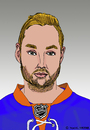 Cartoon: Thomas Vanek (small) by Pascal Kirchmair tagged digital national league thomas vanek nhl islanders ice hockey eishockey karikatur cartoon zeichnung new york austria österreich