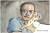 Cartoon: Truman Capote (small) by Pascal Kirchmair tagged truman capote portrait retrato caricature karikatur illustration watercolour aquarell drawing cartoon zeichnung desenho disegno vignetta dibujo dessin schriftsteller scrittore ecrivain author auteur autor
