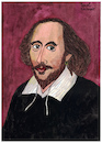 Cartoon: William Shakespeare (small) by Pascal Kirchmair tagged william shakespeare karikatur caricature dessin illustration dibujo portrait retrato pascal kirchmair drawing desenho ilustracion ilustracao illustrazione zeichnung tekening portret cartum cartoon caricatura theater theatre