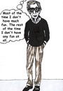 Cartoon: Woody Allen (small) by Pascal Kirchmair tagged woody allen