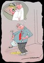 Cartoon: locate  aim and shoot (small) by kar2nist tagged dentist,toilet,urination,mirror