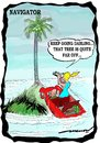 Cartoon: Navigator (small) by kar2nist tagged navigator,woman