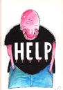 Cartoon: help (small) by axinte tagged axinte