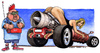 Cartoon: donne e motori (small) by Niessen tagged woman engines