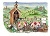 Cartoon: Visit Tuscany (small) by Niessen tagged tuscany garbage spazzatura toscana trash ecology environment turism