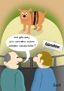 Cartoon: Gürteltier (small) by berti tagged verarscht,billig,cheap,zoo,wortspiel,armadillo,wordplay,inkscape