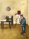Cartoon: electric chear (small) by drljevicdarko tagged finish,job