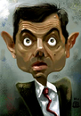 Cartoon: mr. Bean (small) by drljevicdarko tagged rowan,atkinson