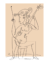 Cartoon: Celline (small) by Herme tagged musician,cello